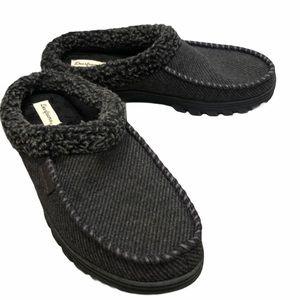 Dearfoams Men's indoor/outdoor slip on slippers